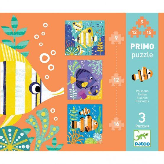 Puzzle Primo – Halak és halacskák