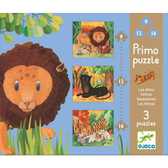 Puzzle Primo – Nagymacskák