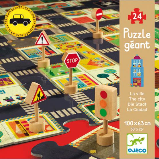Óriás puzzle – A város