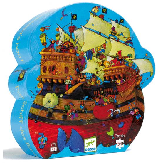 Formadobozos puzzle – Kalózhajó – Barbarossa