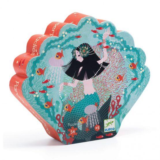 Formadobozos puzzle – Gyöngyhalász lányka