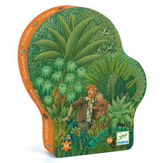 Formadobozos puzzle – Dzsungel