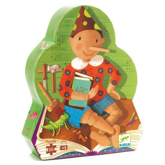 Formadobozos puzzle – Pinokkió
