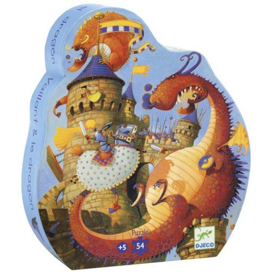 Formadobozos puzzle – Vaillant és a sárkány
