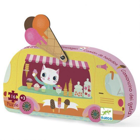 Mini puzzle – Fagyis kocsi