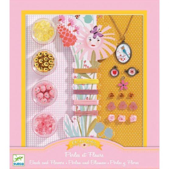 Ékszerkészítő készlet – Gyöngyök és virágok