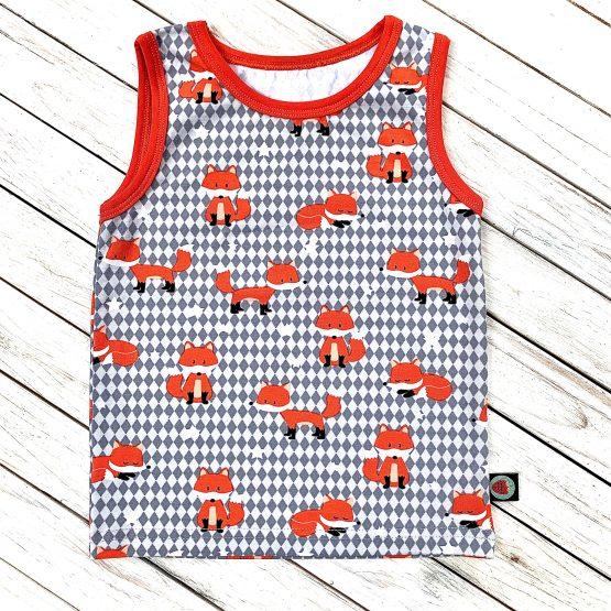 rókás trikó ( narancs passzéval )