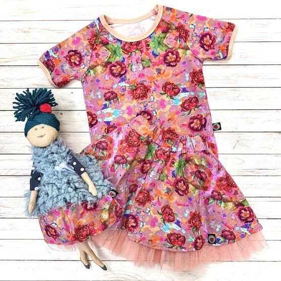 Öltözz össze a babáddal Szamóca ruhába ! – Flóra