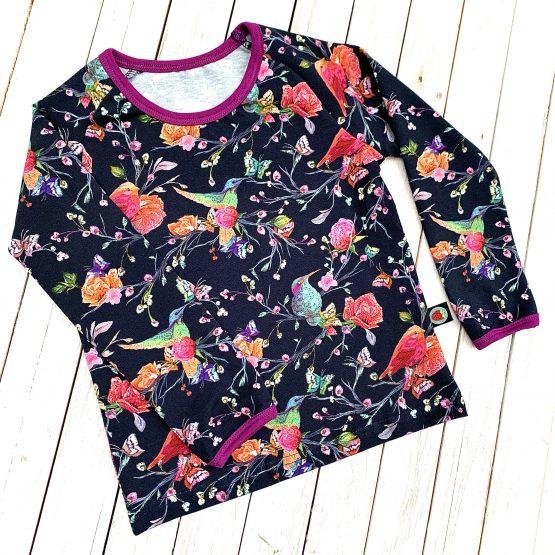 virágoskert –  hosszúujjú póló